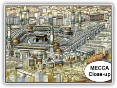 Mecca Close Up