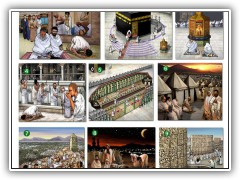 The Hajj Illustrated Pilgramage at Mecca - 2009