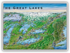 The Great Lakes Map - 2005